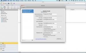 Microsoft Outlook for Mac 2011 hesap ayarları